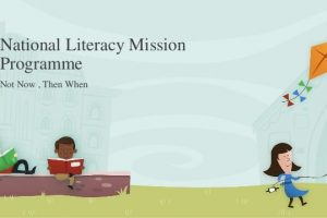 What is the National Literacy Mission Programme