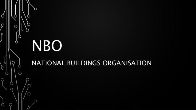 National Buildings Organisation (NBO)