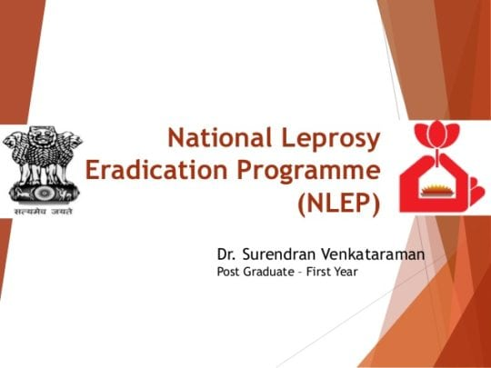 National Leprosy Eradication Programme