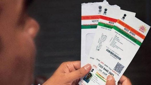 delink your Aadhar card from bank Account