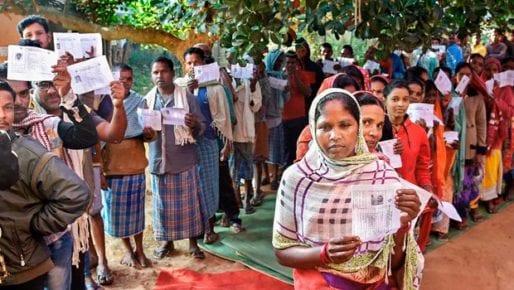 Chhattisgarh polls14% voting in initial hours