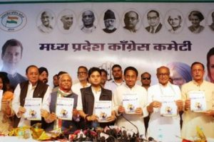 Congress releases manifesto for MP polls