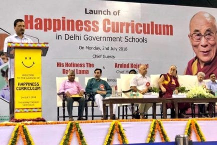 Happiness curriculum of Delhi Government