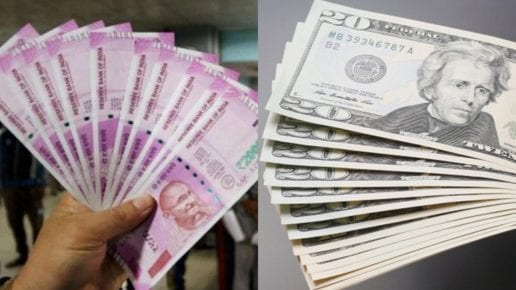 Rupee Edges Higher To Close At 70.79 Against Dollar