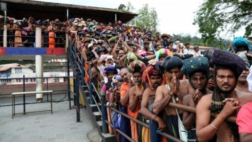 Sabarimala All-party meet fails to end the impasse