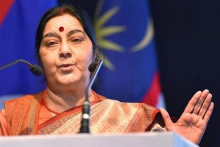 Sushma Swaraj says won't contest in 2019, final decision with BJP