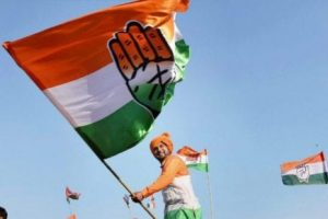 The survey gives thumping majority to Cong in Rajasthan, simple majority in MP