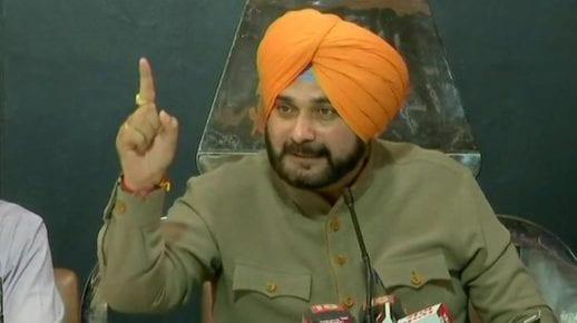 navjot Singh Sidhu to visit Pakistan for Kartarpur Border corridor ceremon