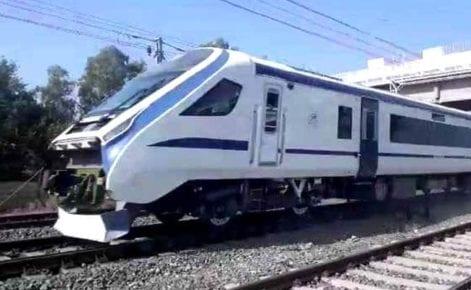 IRCTC Indian Railways Train 18